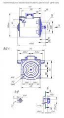 Электродвигатель ДРТВ-13АС