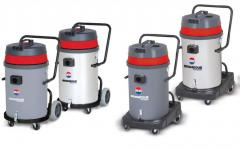 Professional vacuum cleaners for dry and...