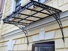 Заборы, решетки, ворота, поручни, козырьки из металла