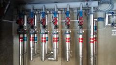 Pump-valves kilns