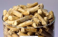 Raw materials for production of fuel pellets