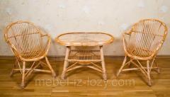 Набор мебели ручной работы  из экологически