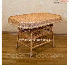 Стол плетеный из экологически чистого материала