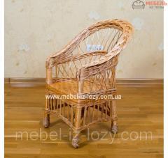 Кресло из лозы для детей