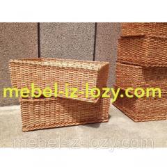 Плетеные лотки для хлеба и продуктов 50*30 с