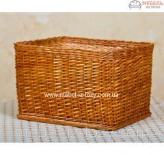 Лоток-короб плетеный 30х30 с высотой борта 20 см