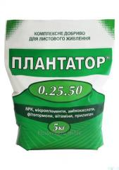 PLANTATOR® 0.25.50. Komplexní minerální hnojivo.