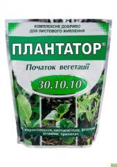 複雑なミネラル肥料Plantator®30.10.10。