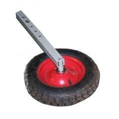 Стойка с колесом для КВГ Роста