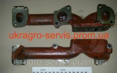 Коллектор выпускной 245-1008025 (ЗиЛ Бычок, МТЗ, Д-245)