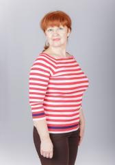 T-shirt female T-6, XXS, XS, S, M, L sizes