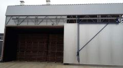 Convective drying chamber timber