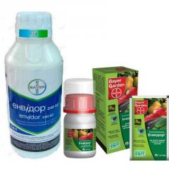Акарицид Енвидор для защиты плодовых и овощных культур от клещей Bayer 5мл 60мл 1л
