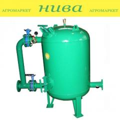 Фильтр гравийный вертикальный 50кубометров 3 дюйма ФГ-50/3 Роста