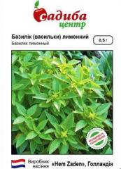 Семена базилика Базилик базилик лимонный Усадьба Hem Zaden 0.5г