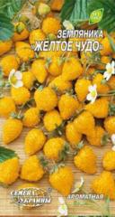 Семена земляники Желтое чудо Семена Украины 0.10г