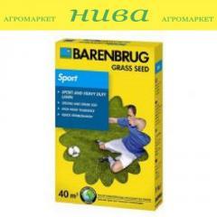 Семена газонной травы Спорт Barenbrug 1кг 5кг