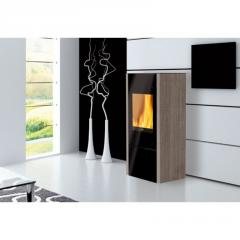 Oven heating with wood Edilkamin Coral 1 (marble)