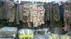 Military clothes and footwear of all countries of