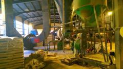 Production line pellet, fuel granules