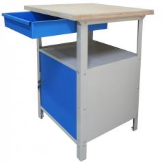 Workbench bedside table for HUNDRED Stw 111