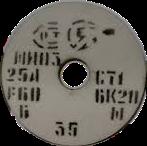 Круг на керамической связке 25А Подбор  по D,T,H 250, 20, 32