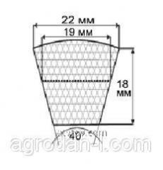 Ремни профиль SPC, (УВ), 22х18 мм