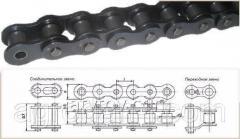 Цепь приводная роликовая однорядная ПР-38,1-127 (24A-1), Hовое, Оригинал, Сельскохозяйственная техника
