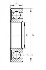 Подшипник 60120 (6020 Z)