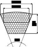 Ремень приводной SPA,  11х10-1032