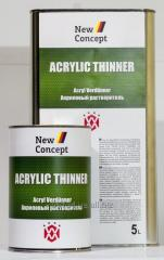 Acrylic thinner of New Concept Acrylic Thinner