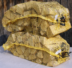 Сетки из полиэтилена для упаковки дров,