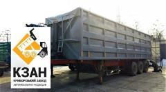 60 cbm tipper semitrailer
