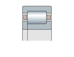 Подшипник роликовый радиальный однорядный типа NUP