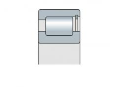 Подшипник роликовый радиальный однорядный бессепараторный