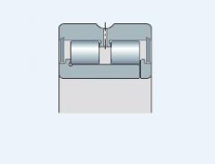 Подшипники радиальные двухрядные с сепараторо