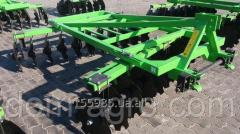 Harrow disk Bomet of 2, 1 m hinged
