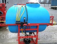 Опрыскиватель штанговый ОП-1000 литров Jar-met (12,14м + стабилизация ,16 м+стабилизация)