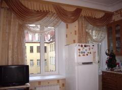 Шторы для кухни, занавески для кухни, пошив штор