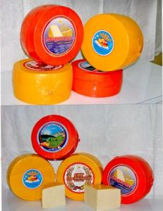 Cheese Kostroma (Gouda) abomasal