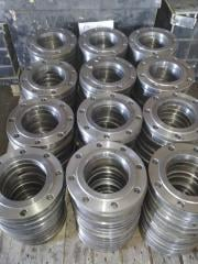 Flange of steel Du 100