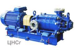 The pump TsNS 60-198, TsNS 60-231, TsNS 60-264,