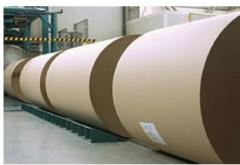 Cardboard for external layers of corrugated