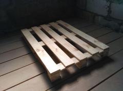 Поддон деревянный, евро поддон