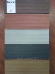 Composite (terrace) board of TM Gamrat