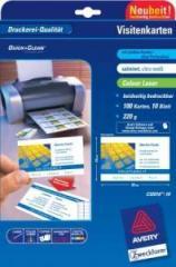 Бумага для визиток Avery, С32016-10, А4 Сатин , код С32016-10
