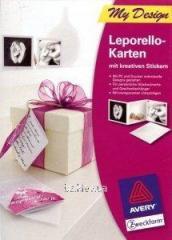 Поздравительные открытки Avery Leporello, MD2002, А4