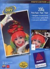 Фотобумага для струйных принтеров Avery Premium глянцевая, спецпокрытие, А4, 180 гр/м.кв 10 листов , код 2570
