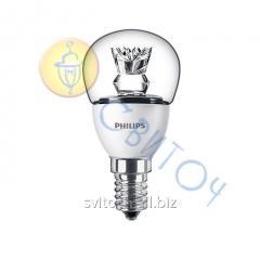 Светодиодная лампа Philips LED 5.5-40W E14 2700K 230V P45CLND шар (929001142607)