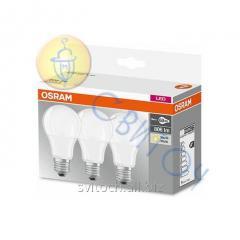 Светодиодная лампа OSRAM BASECLA60 9W/827 220-240VFR E27 FS3 (уп-3шт) матовая (4052899955493)